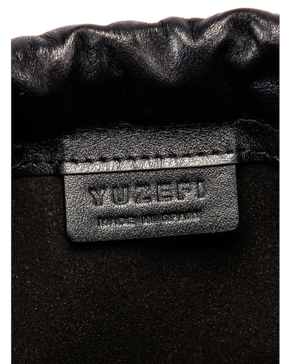 Image 6 of Yuzefi Pouchy Bag in Herringbone & Nero