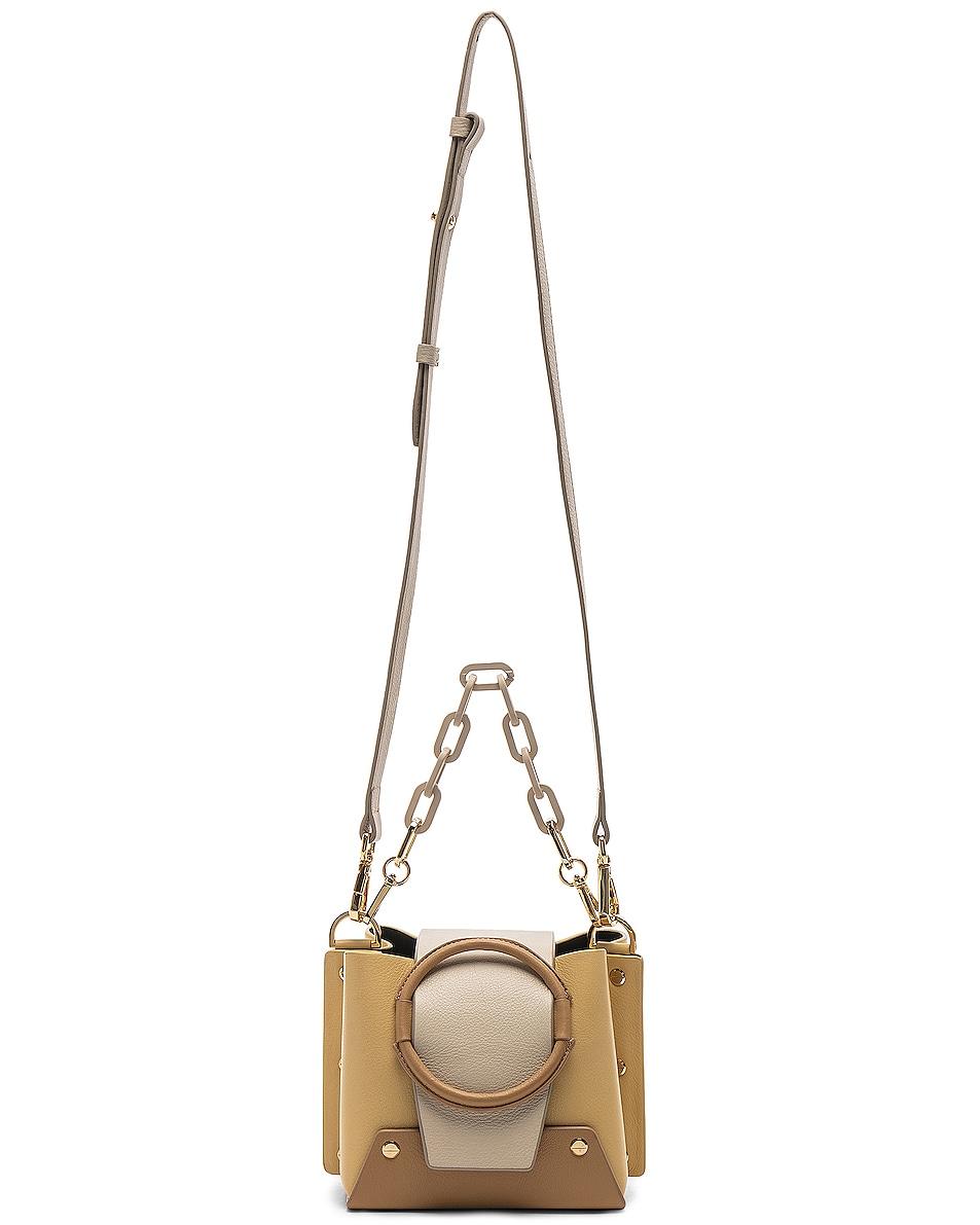 Image 6 of Yuzefi Mini Delila Bag in Apricot & Cream