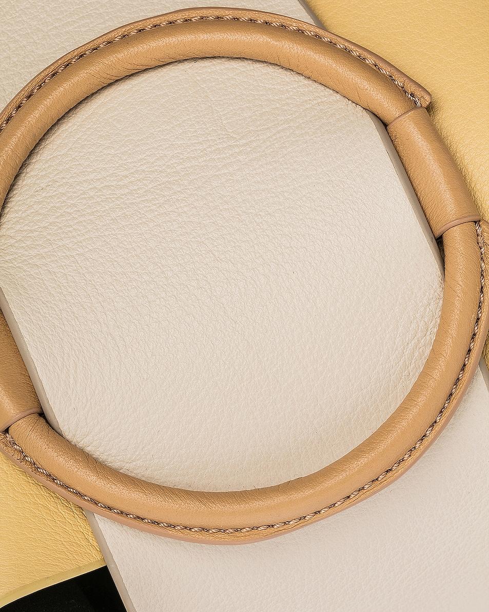 Image 8 of Yuzefi Mini Delila Bag in Apricot & Cream
