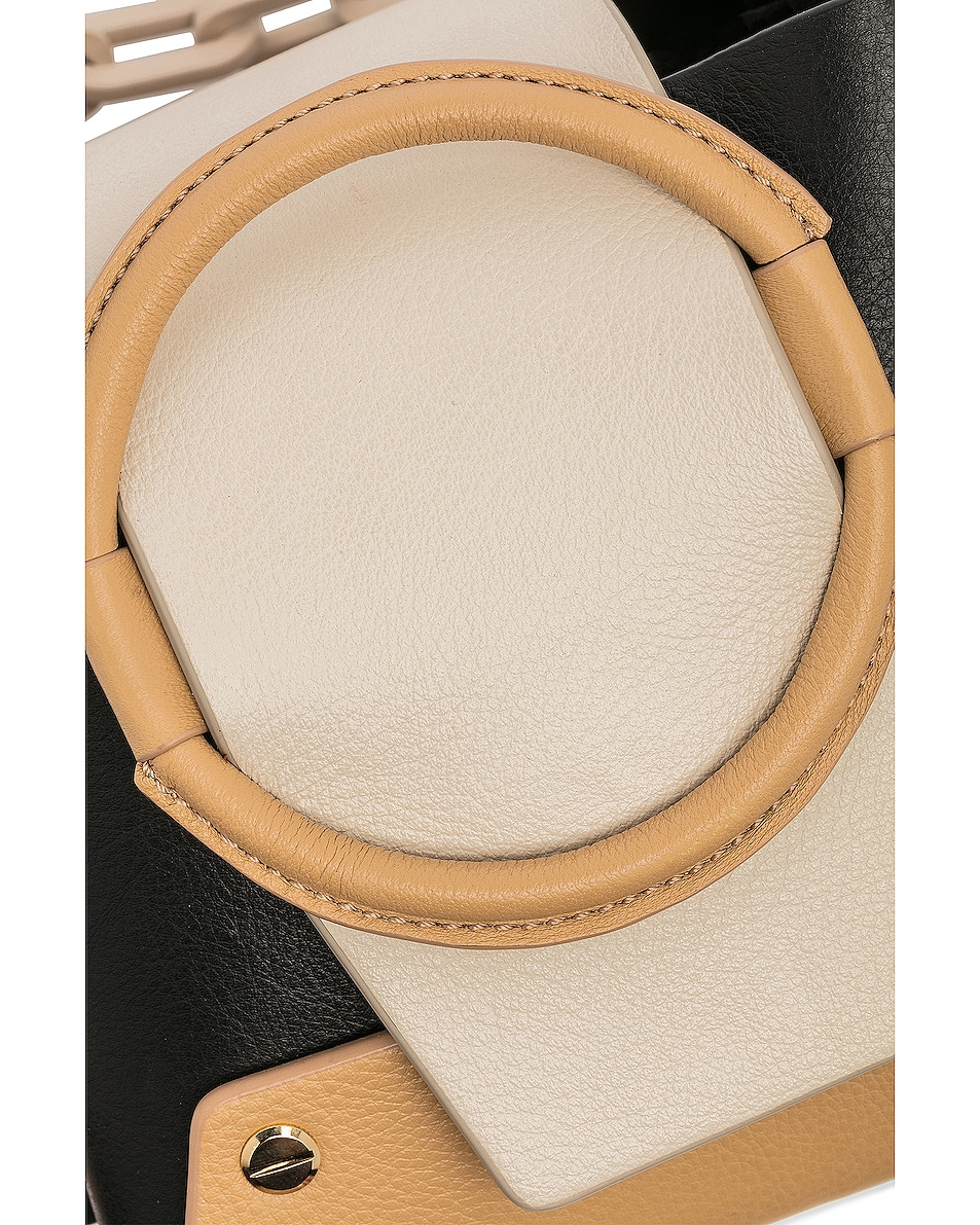 Image 7 of Yuzefi Mini Delila Bag in Nero & Cream