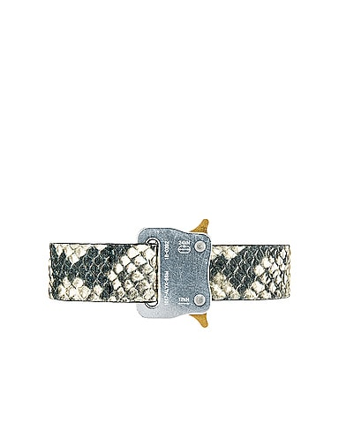 Medium Rollercoaster Leather Belt