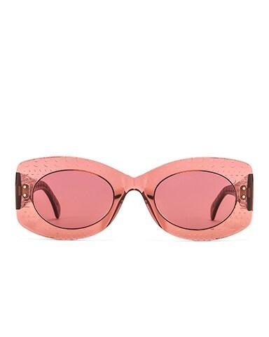 Soft Round Stud Sunglasses