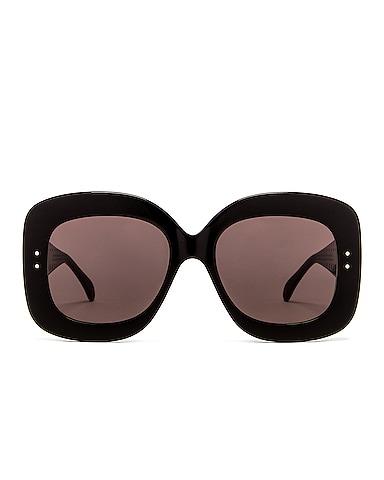 Acetate Soft Square Sunglasses