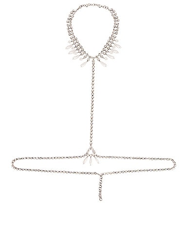 Necklace Pearl Body Chain