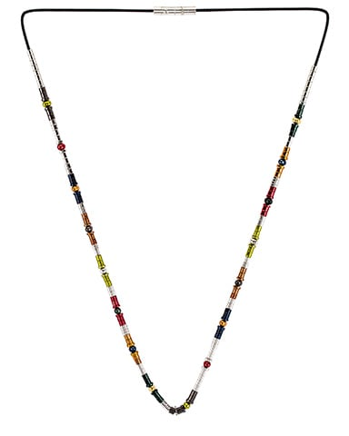 Classic Multi Metal Beads Necklace