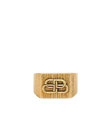 BB Textured Ring
