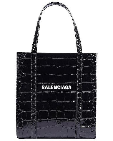 XXS Embossed Croc Everyday Tote Bag