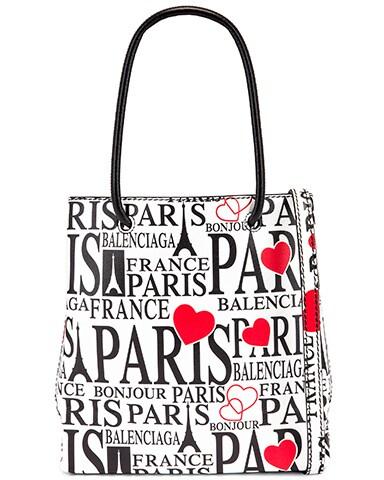 XXS Paris Bonjour Shopping Tote Bag