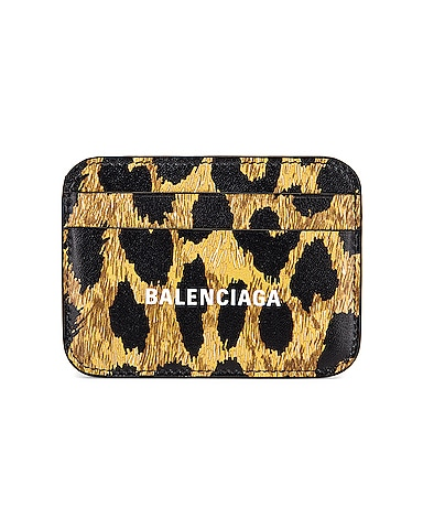 Leopard Cash Card Holder