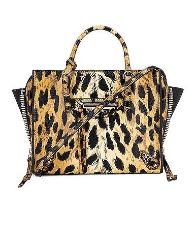 Mini Leopard A4 Bag