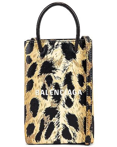 Leopard Shop Phone Holder Bag