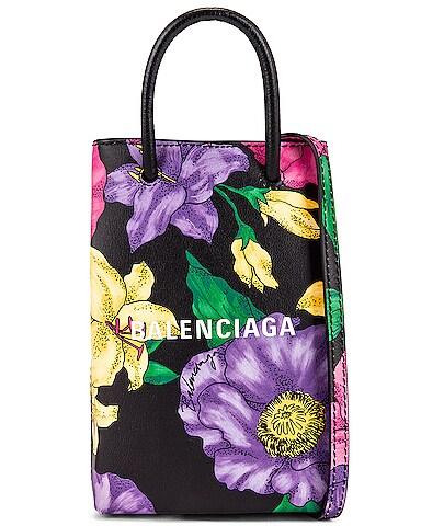 Floral Shop Phone Holder Bag