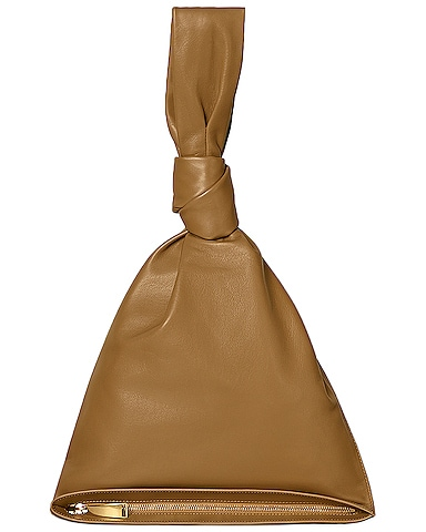 Leather Knot Bag