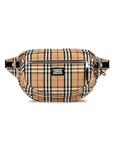 Vintage Check Bonded Bum Bag