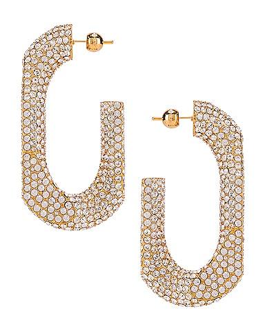 Large Chain Link Earrings