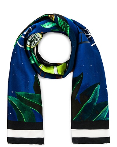 Midnight Tennis Scarf