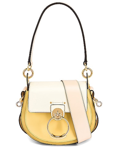 Small Tess Tricolor Leather Bag