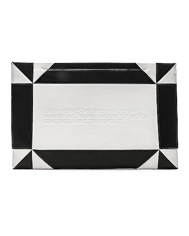 Geometric Quilted Clutch