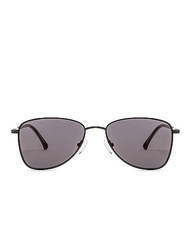 Small Metal Aviator Sunglasses
