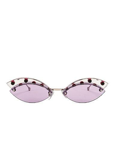 Defender Butterfly Polka Dot Sunglasses