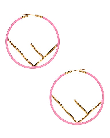 Logo Hoop Earrings
