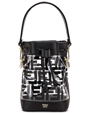 Mini Mon Tresor Logo Crossbody Bag