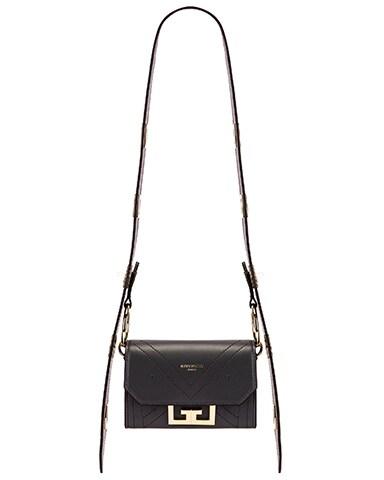 Nano Eden Leather Contrasted Details Bag
