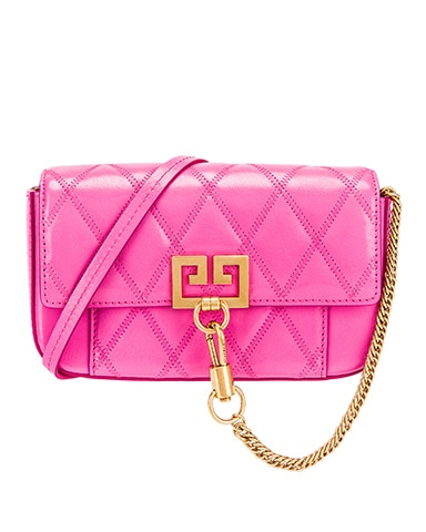 Mini Pocket Quilted Leather Bag