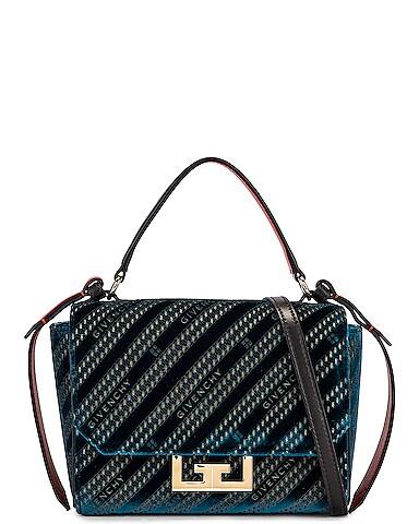 Mini Eden Lasered Velvet Bag