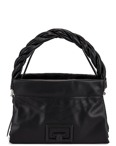 Medium ID 93 Twisted Strap Zip Bag