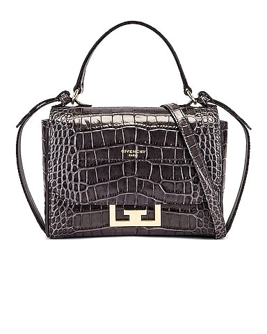 Mini Embossed Croc Eden Bag