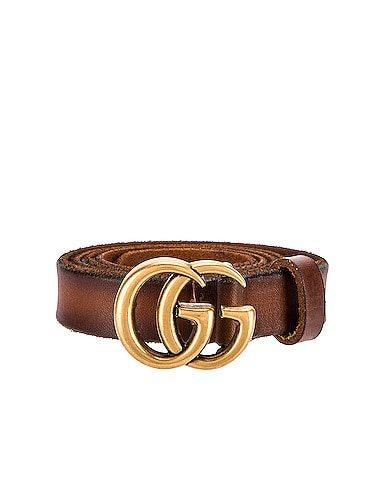 GG Marmont Leather Belt