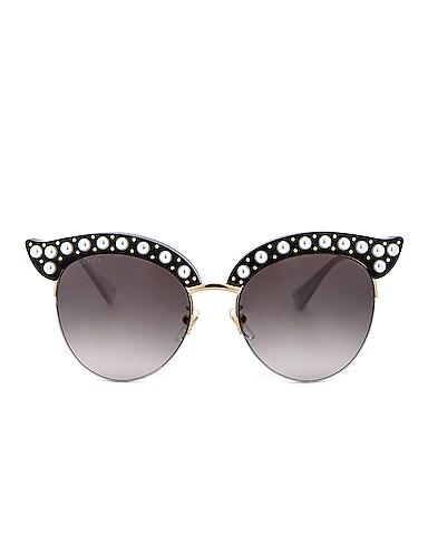 Opulent Luxury Pop Glitter Sunglasses