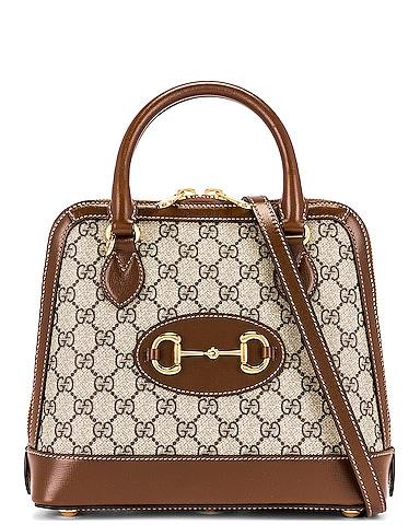 1955 Horsebit Top Handle Bag