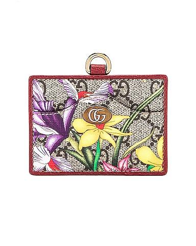 Floral Card Case