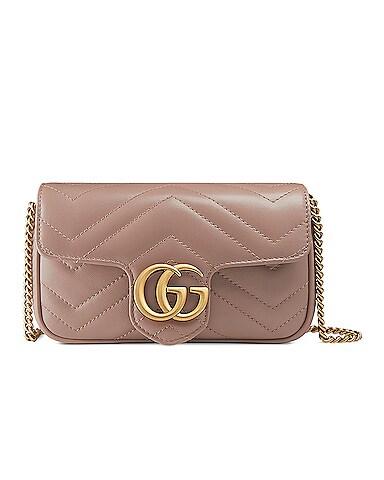 GG Marmont Super Mini Chain Shoulder Bag
