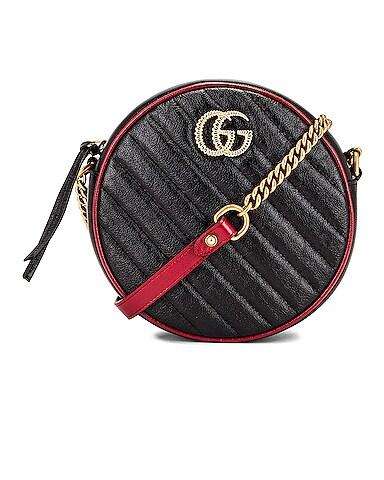 GG Marmont 2.0 Round Shoulder Bag