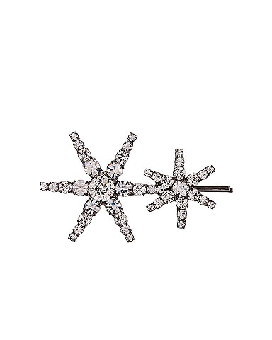 Double Star Bobby Pin