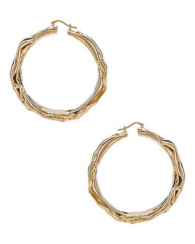 Flattened Earrings