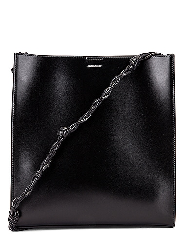 Medium Tangle Leather Crossbody Bag