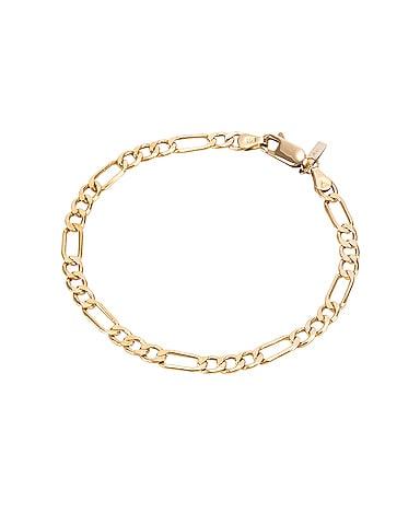 XL Figaro Chain Bracelet