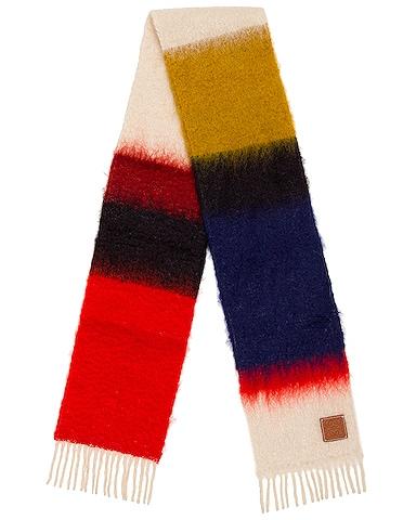 Mohair Stripes Scarf