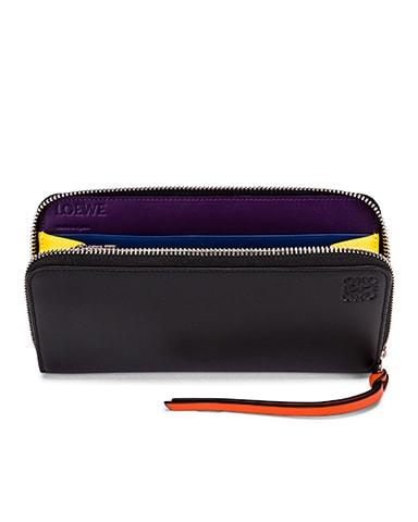 Rainbow Zip Around Wallet