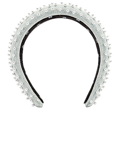 Petite Padded Beaded Headband