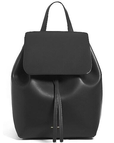 Coated Mini Backpack