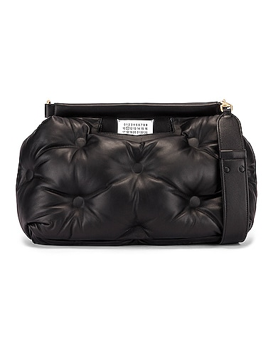 Glam Slam Tufted Shoulder Bag