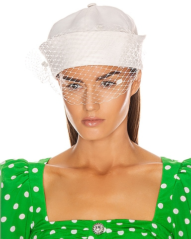 Sailor Hat with Veil