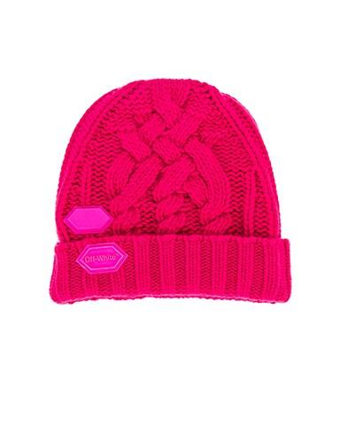 Knit Pop Color Hat