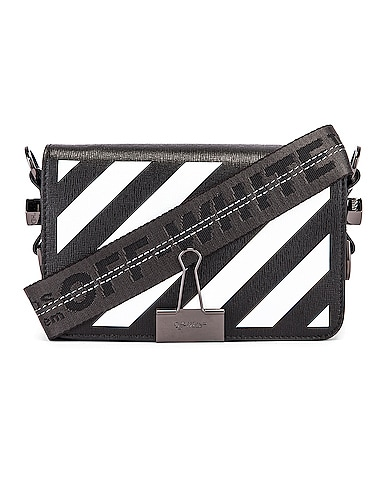 Diagonal Mini Flap Bag