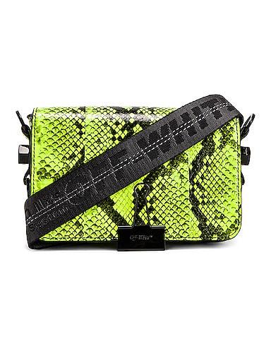 Python Mini Flap Bag